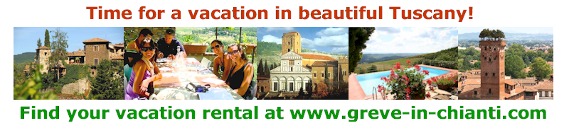 Vacation rental accommodations and hotels in Chianti
